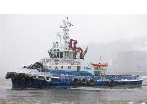 krachtigste sleepboot ocean tundra is the most powerful tug of its type in