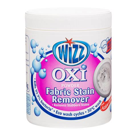 couch stain remover products wizz oxi ultra plus fabric stain remover 1kg stain