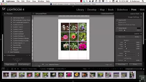 adobe lightroom templates adobe lightroom 4 tutorial working with and creating