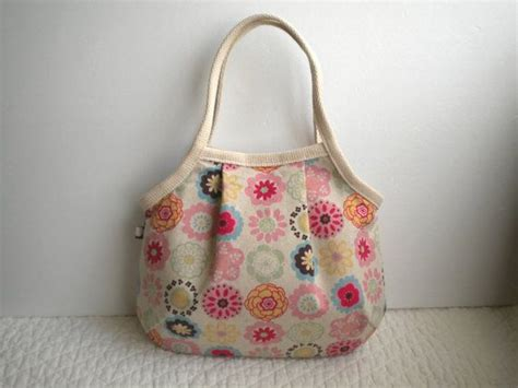 Handmade Tote Bags Patterns - japanese fabric bag bag small cotton linen