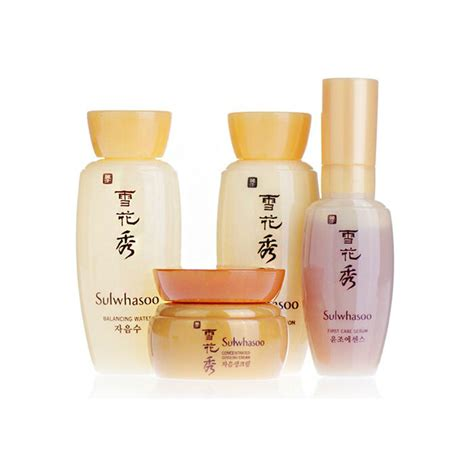 Sulwhasoo Snowise Kit sulwhasoo basic kit 4items serum water emulsion