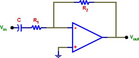high pass filter non inverting op njit ee 392 experiment no 5 operational lifier active filters