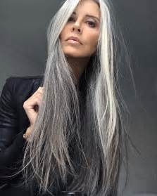 hairstyles for turning grey best 10 long silver hair ideas on pinterest long gray