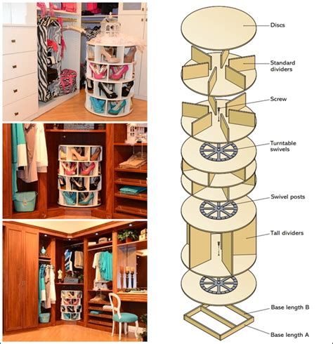 lazy susan organizer ideas this diy lazy susan shoe rack is just awesome for shoe