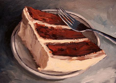 cake painting paintings from a small town november 2009