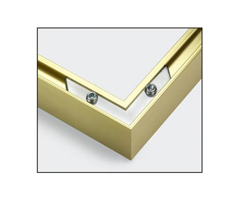 cornici alluminio cornice in alluminio trittico 40 120cm accessori