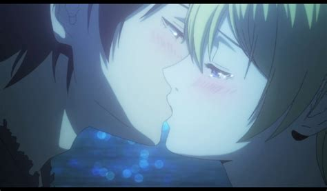 anime romance the gallery for gt anime kiss scenes