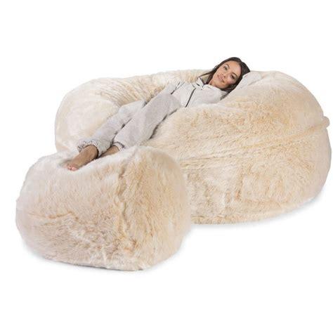 big bean bag bed 113 best images about fur beds n blankets on pinterest