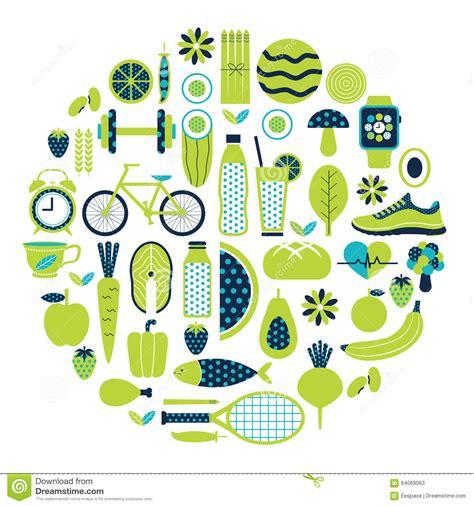 1470978512 la vie dans la couleur ic 244 ne saine de mode de vie r 233 gl 233 e dans la couleur verte