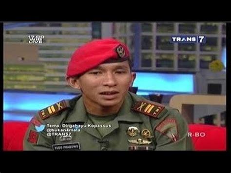 almira dan bimbo di bukan empat mata mayor inf agus harimurti yudhoyono bukan empat mata