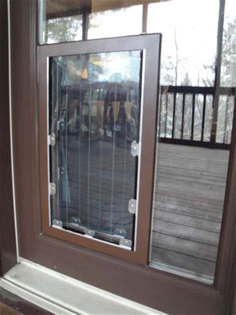 Doggie Door In Glass Glass Pet Doors Perth Wa Glass Pet Doors Door For Sliding Glass Door