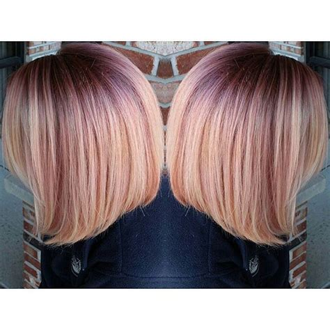 pin by peachy roots on this shadow root hair root color