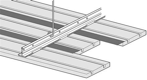 Wood Plank Ceiling Detail
