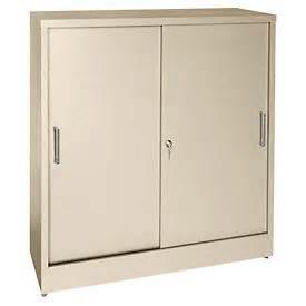 cabinets wall mount counter height sandusky sliding