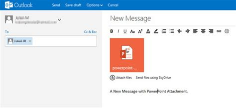 hotmail email template how to powerpoint with the new outlook email