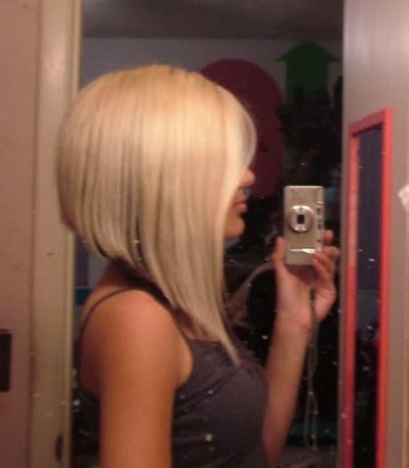 blonde aline haircuts short aline haircuts