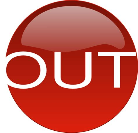 out and about a red out clip art at clker com vector clip art online royalty free public domain