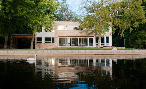 ab home design nj pavilion like house designed as a lake retreat by res4