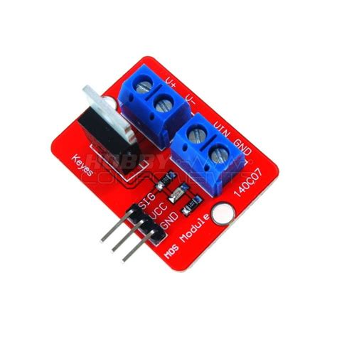 transistor driver arduino irf520 mosfet driver module for arduino arm raspberry pi robu in indian store rc