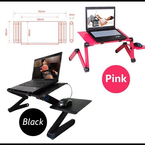 Multifunction Desk Pink 4 In 1 134 multi functional ergonomic mobile laptop table stand for bed portable sofa laptop table foldable