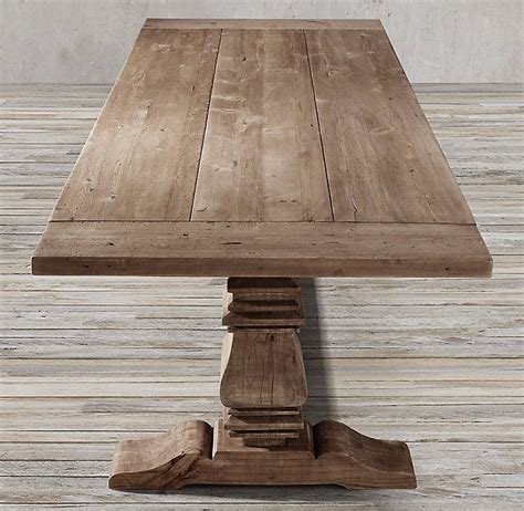 unfinished pine rectangular wood table top 17 best ideas about trestle dining tables on