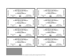 fashion show ticket template event ticket template 3 that s so random