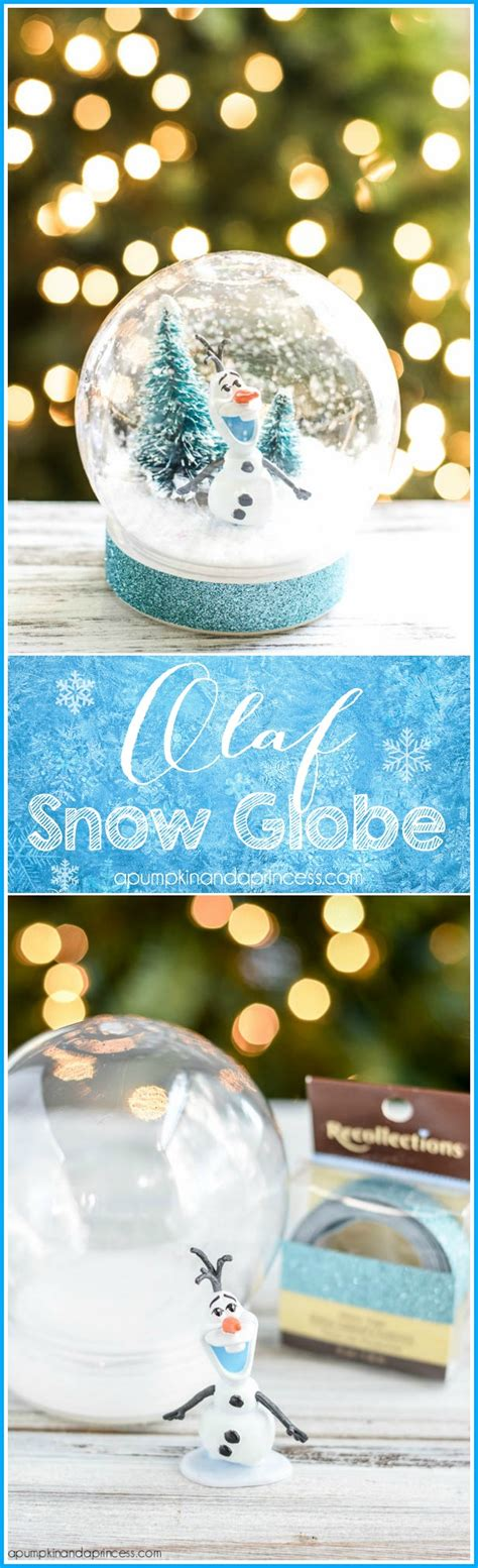 diy decorations snow globe 10 awesome diy frozen decorations