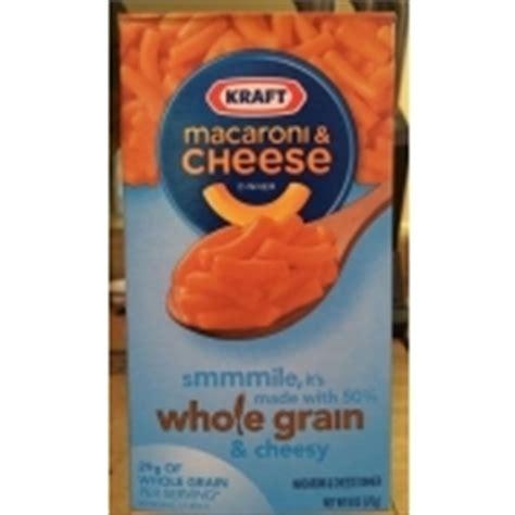 whole grain kraft macaroni and cheese nutrition kraft macaroni cheese dinner whole grain calories