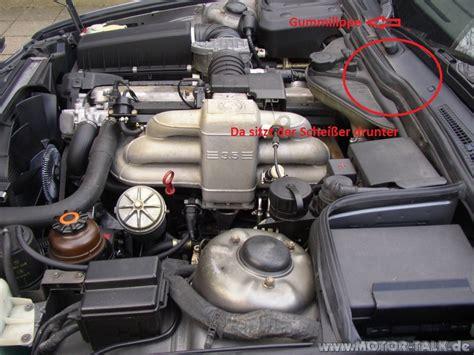 motorraum  geblaesemotor ausbauen eilt bmw er