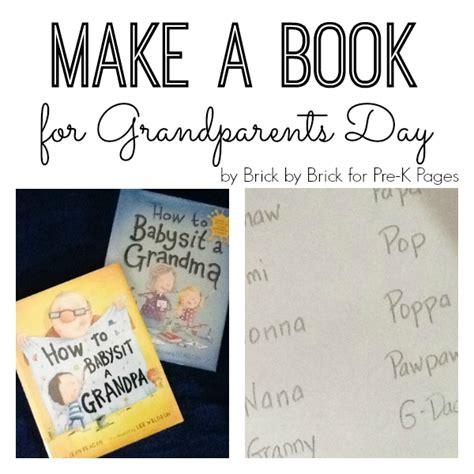 make it a day books make a book for grandparents day