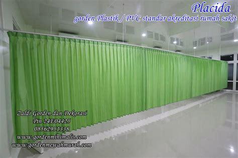 Gorden Plastik jual tirai gorden plastik pvc untuk rumah sakit standar