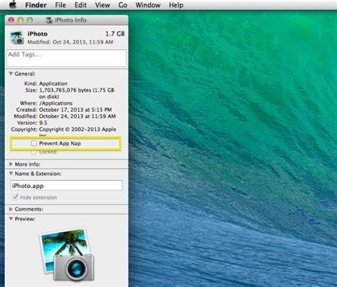 optimizing your mac yosemite how to turn app nap off for specific apps on your mac os