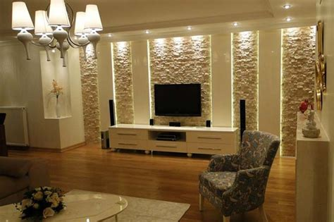 travertine wall coveerings contemporary living room