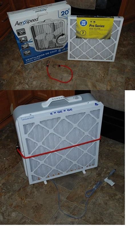 20 inch box fan hepa filter diy picmia