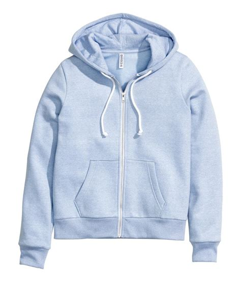 Hoodie Jaket Sweater Greenlight light blue hoodie womens fashion ql