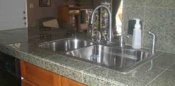 Chicago Kitchen Faucets how to install a granite tile countertop today s homeowner
