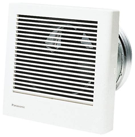modern wall fan panasonic fv 08wq1 whisperwall 70 cfm wall mounted fan