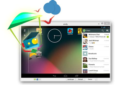 andy the android emulator descargar andy ejecutar android en windows