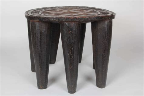 Nupe Stool by Tribal Nupe Stool At 1stdibs