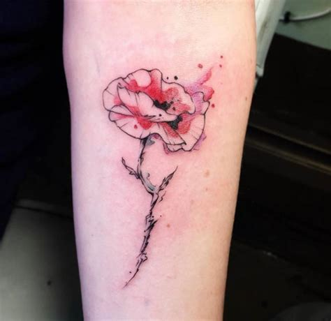 watercolor tattoo ulm 36 stunning watercolor flower tattoos tattooblend