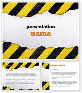 Construction Powerpoint Template by Construction Themed Powerpoint Template