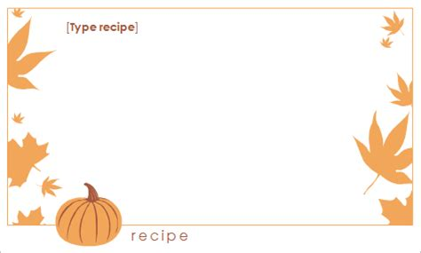 thanksgiving recipe card template free thanksgiving place cards templates happy easter