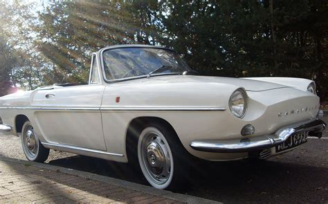 vintage renault cars me and my motor 1964 renault caravelle cabriolet