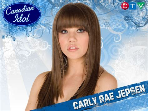 Carly Rae Jepsen Canadian Idol   your complete guide to collegiate sports teams making