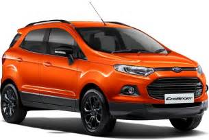 Ford Price New Ford Ecosport 2016 Price Colors Mileage Specifications