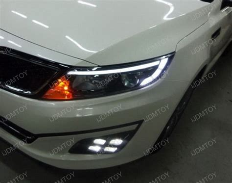 Kia Optima Headlight 14 Up Kia Optima Oem Style Led Daytime Running Lights For
