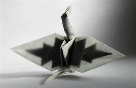 Beautiful Origami Paper - beautiful origami crane by cristian snaps