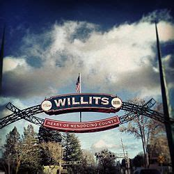 willits, california wikipedia