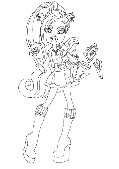 free high coloring pages high catty noir coloring pages free coloring for