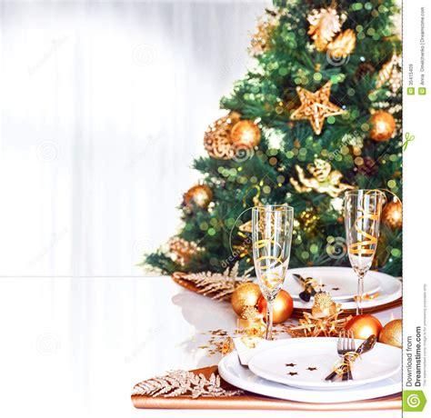christmas dinner border stock image image of christmas